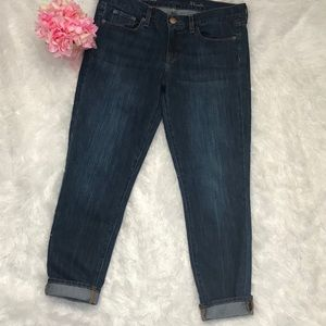 J Crew Toothpick Ankle Jeans 31